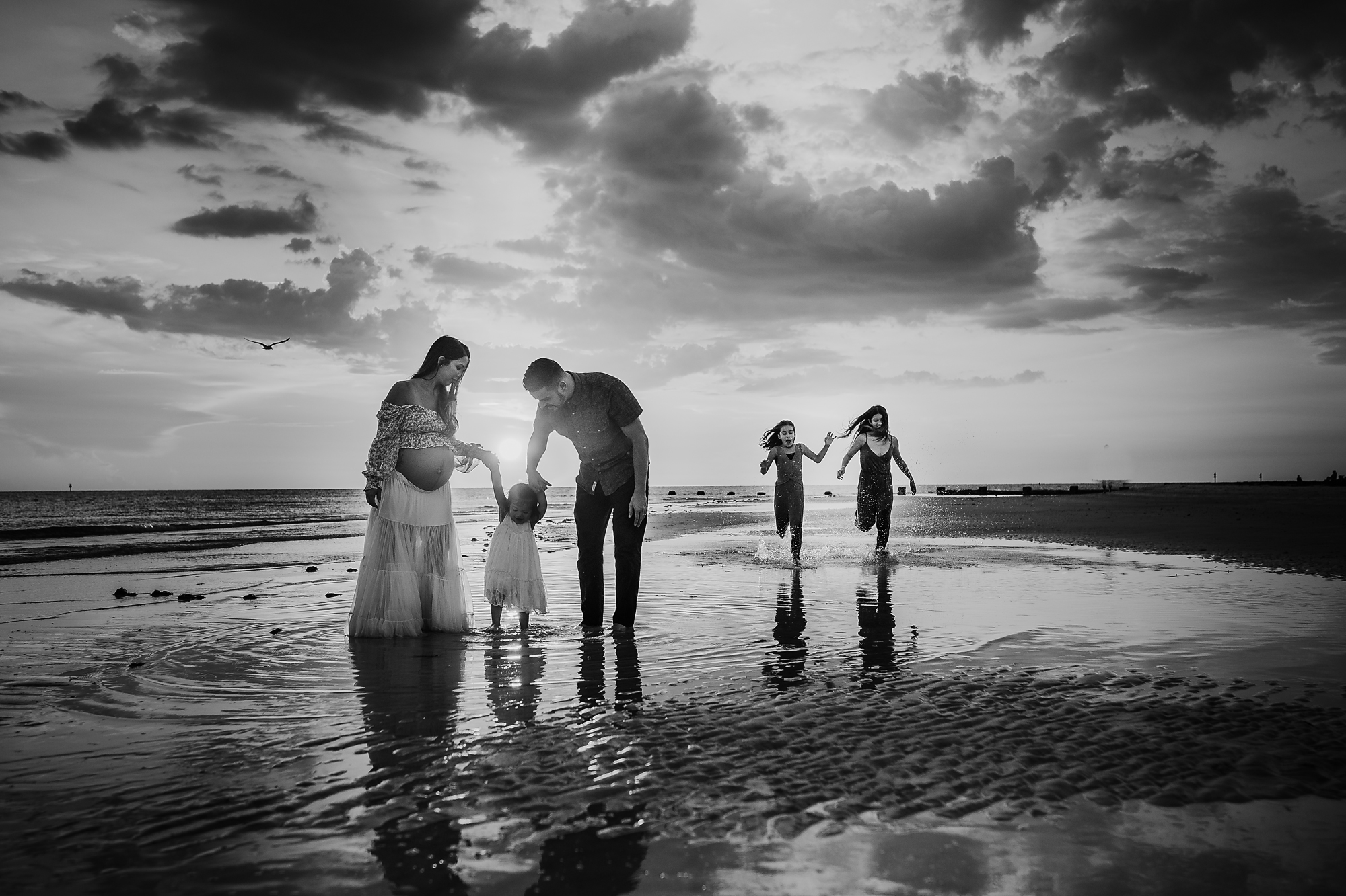 beach family photography tampa