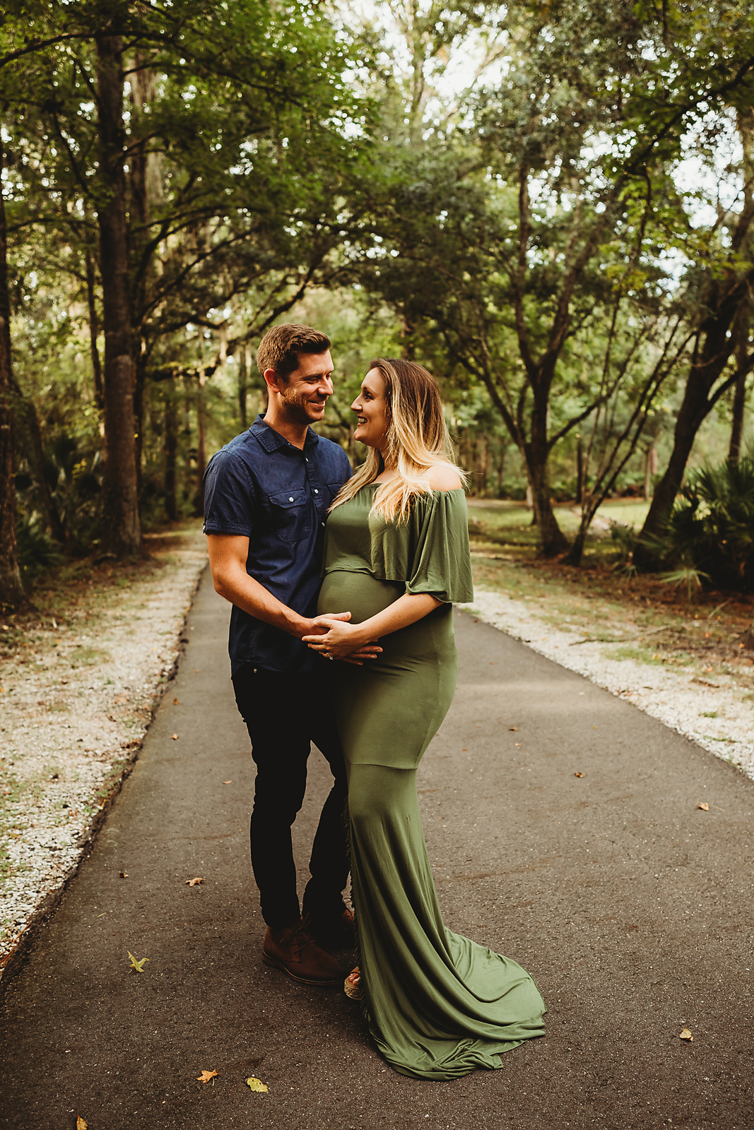 temple terrace florida maternity session
