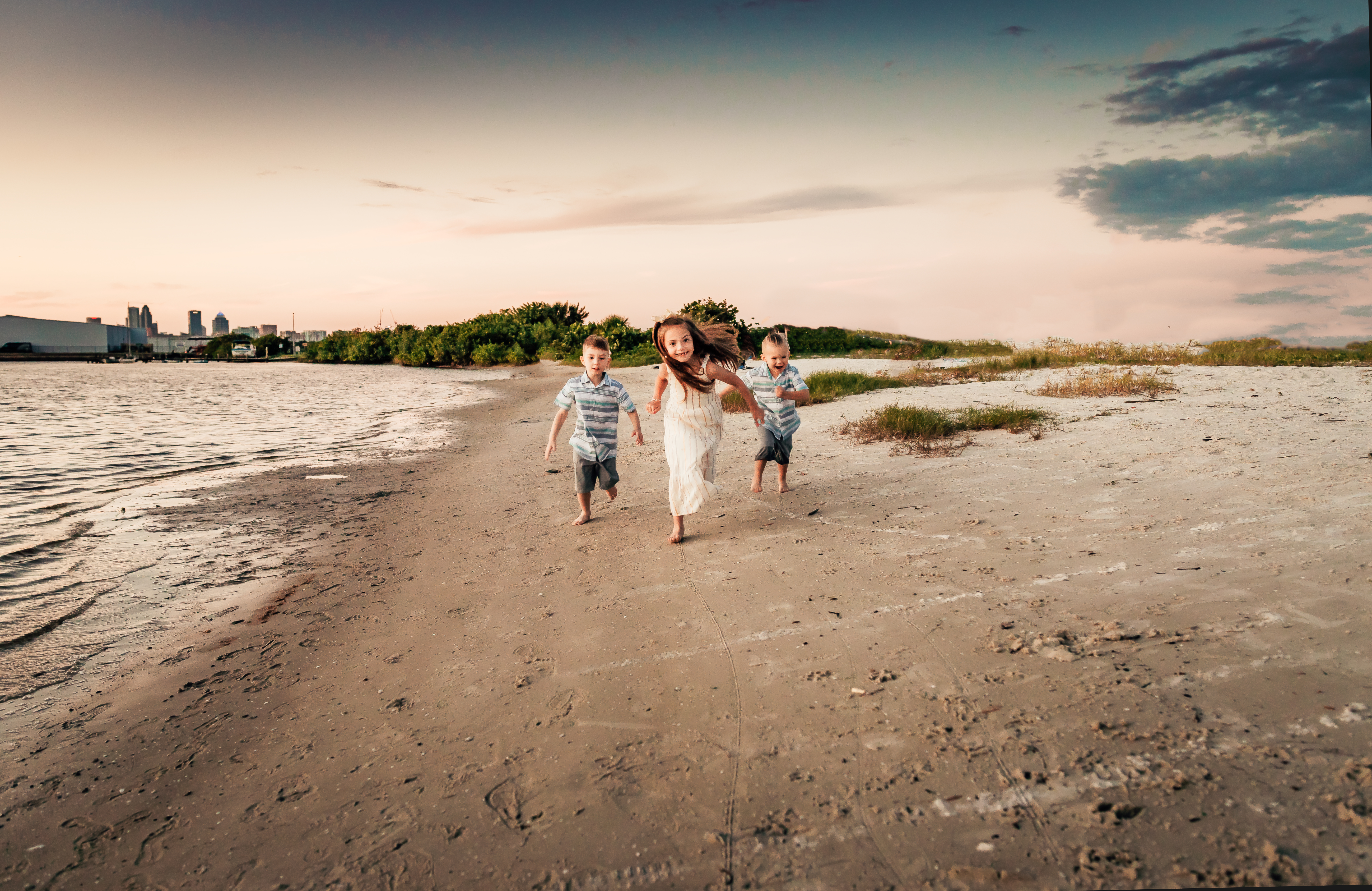 tampa fl family session beach