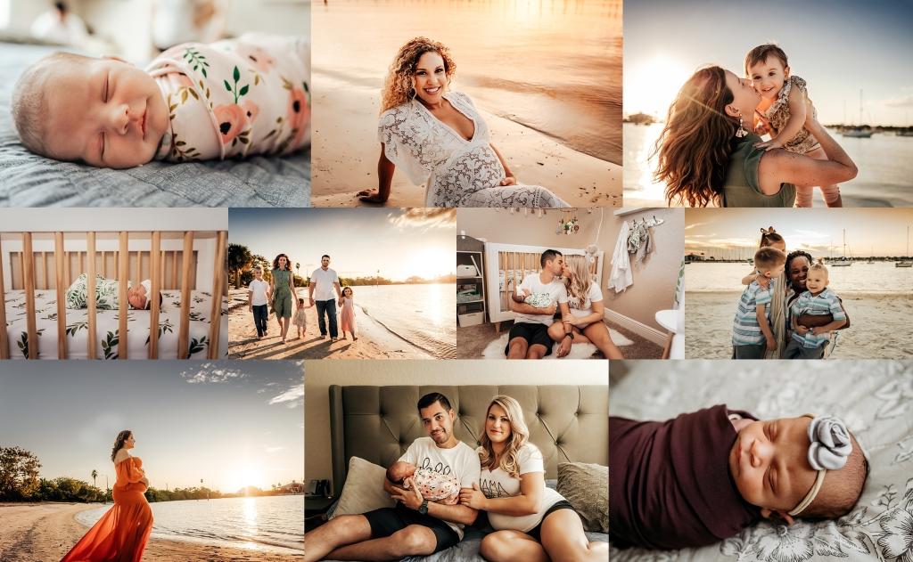 tampa maternity photographer   tampa newborn photographer