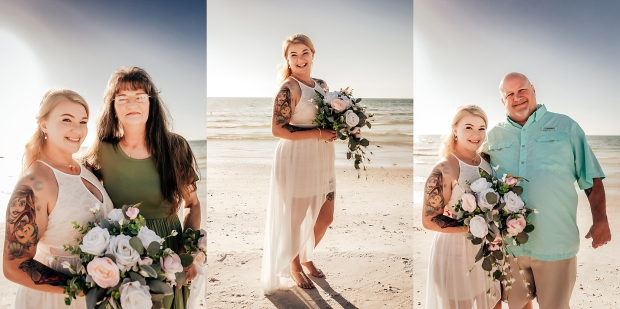 honeymoon island state park wedding photographer