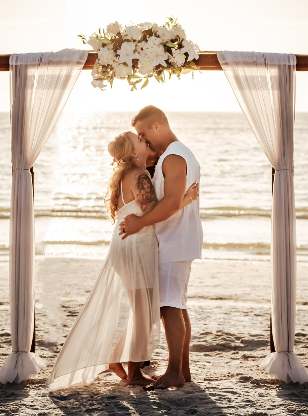 tampa beach wedding photographer
